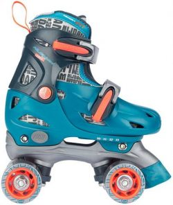 Roller Skates Junior Adjustable Hard Boot Disco Twirl