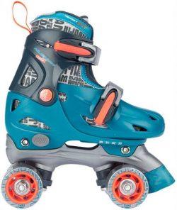 Roller Skates Junior Adjustable Hard Boot Disco Twirl