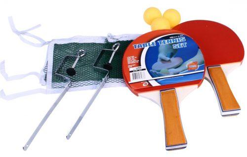 Σετ 2 Ρακέτες Ping Pong, 3 Μπαλάκια & Δίχτυ