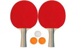 Σετ 2 Ρακέτες Ping Pong & 3 Μπαλάκια