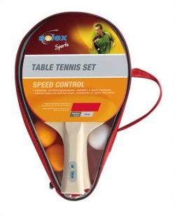 Set Solex 1,8mm sponge soft cap, 3 TT-Balls