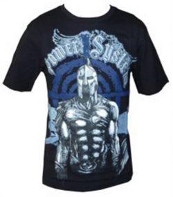 "T-shirt ""SPARTAN"" (Μαύρο,Άσπρο)"