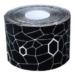 Ταινία κινησιοεπίδεσης TheraBand Kinesiology Tape 5cm x 5m Thera Band Μαύρο 209101B