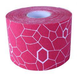 Ταινία κινησιοεπίδεσης TheraBand Kinesiology Tape 5cm x 5m Thera Band Ροζ 209101F