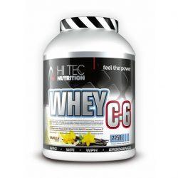 Πρωτεϊνη Whey C6 2250 gr Hitec Nutrition Βανίλια