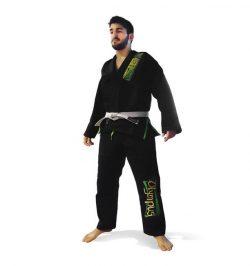 Στολή Brazilian Jiu-Jitsu Uniform Olympus Black 550 gr Pearl