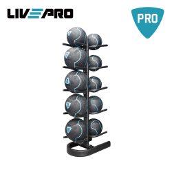 Βάση για 10 Medicine Balls Live Up Pro