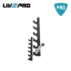 Βάση τοίχου για ολυμπιακές μπάρες Live Pro Β-8812