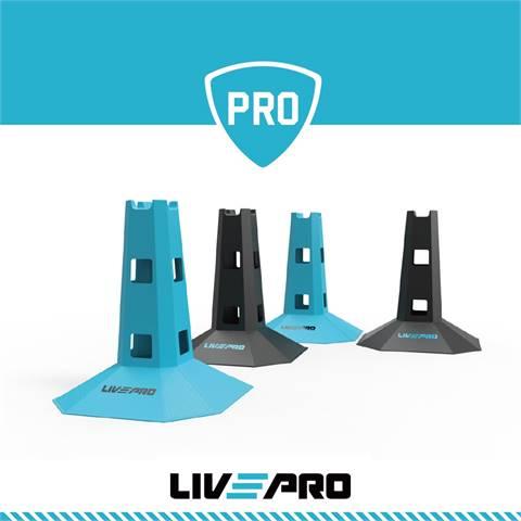 Κώνοι ευκινησίας (4 τεμάχια) Live Up Pro