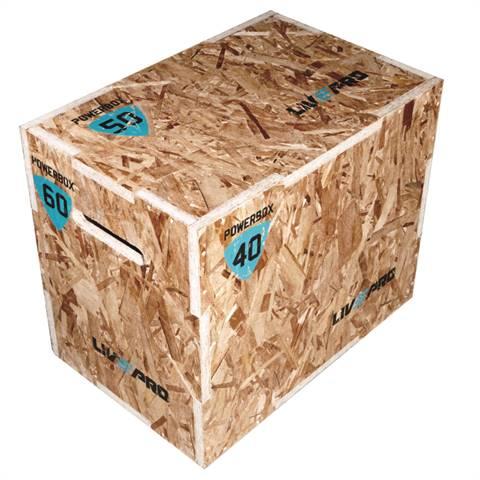Plyo Box 3-σε-1 (Ξύλινο Πλειομετρικό Κουτί)