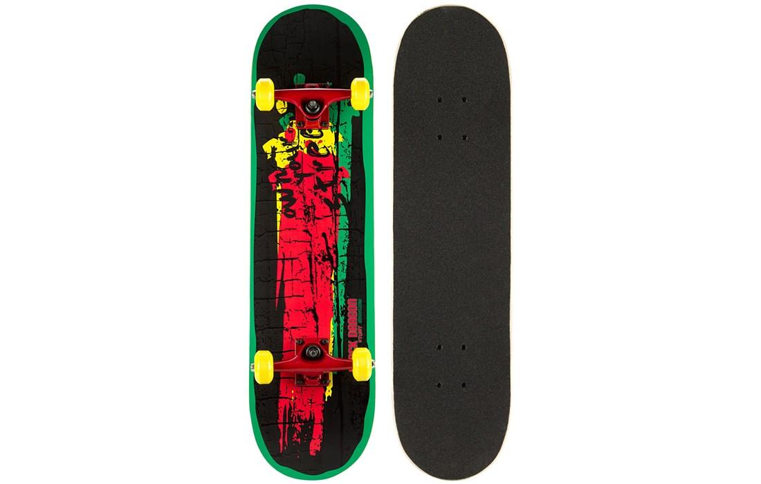 Skateboard Black Dragon