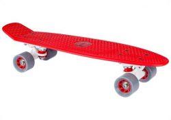 "Skateboard Plastic (22.5"") Κόκκινο Nijdam"