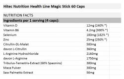 Hitec Nutrition Health Line Magic Stick 60 Caps